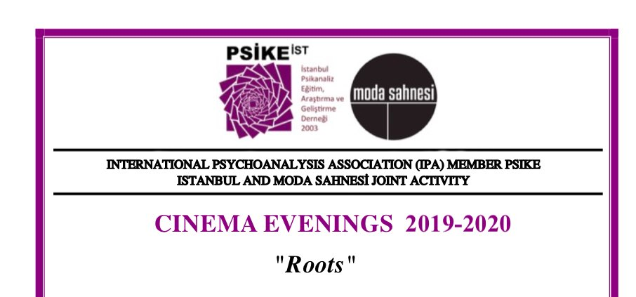 CINEMA EVENINGS 2019-2020